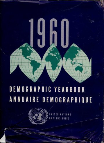 Demographic Yearbook 1960 - Millennium Development Goals ...