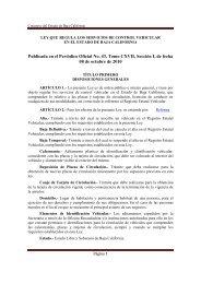 Ley que Regula los Servicios de Control Vehicular - Tijuana