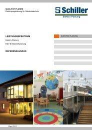 Elektroplanung Gebäudetechnik - Schiller Automatisierungstechnik ...
