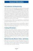 Graduate School - Bethel University - Page 7