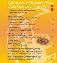 Westfälische Speisenkarte 2009 (en).cdr - Hotel Victoria