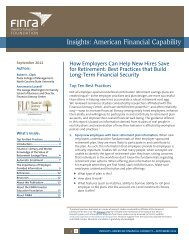How Employers Can Help New Hires Save for Retirement: Best ...