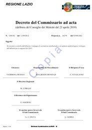 Protocollo Influenza 2012-2013 - Azienda USL Rieti