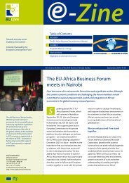 The EU-Africa Business Forum meets in Nairobi - ACP Business ...