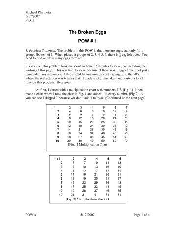 Pow 6 the haybaler problem - Term paper Example