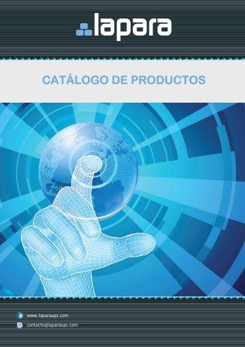 Catálogo SAIs LAPARA [4,2 Mb] - Laparaups.com