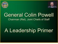 Chairman (Ret), Joint Chiefs of Staff - Klean Industries