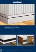 Sockelleisten Oberkante gerundet - Leisten Wagner - Seite 6