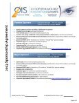 2013 Sponsorship Agreement Form - Ophthalmology Innovation ... - Page 3