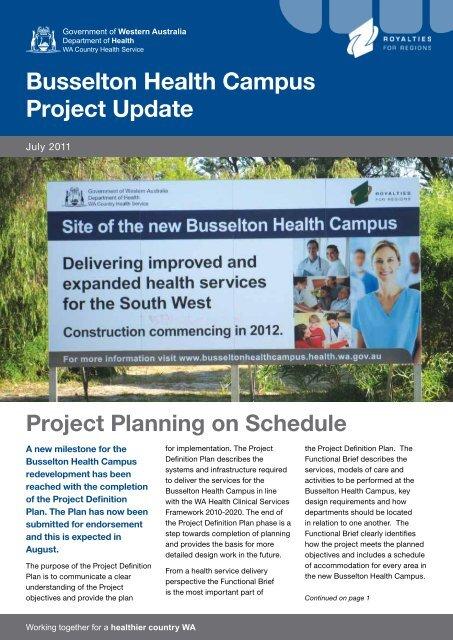 July 2011 - WA Country Health Service