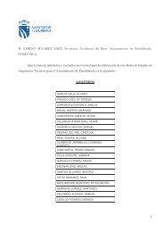 listado provisional admitidos y excluidos - Ayuntamiento de ...