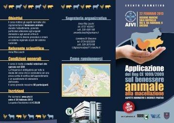 Locandina ECM Ancona - Aivi