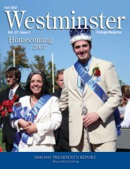 Homecoming 2007 - Westminster College