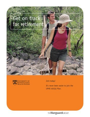 Get On Track for Retirement (Vanguard) - uphs