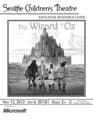 The Wizard of Oz - Seattle Children's Theatre