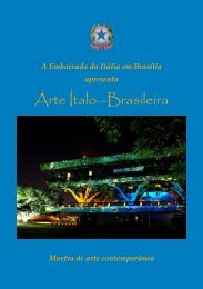 Arte Ítalo—Brasileira - Ministero degli Affari Esteri