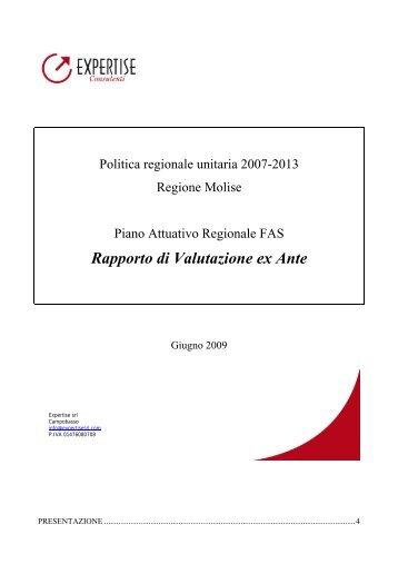 Rapporto di Valutazione ex Ante - DpS