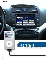 Acura - iPhone car kit