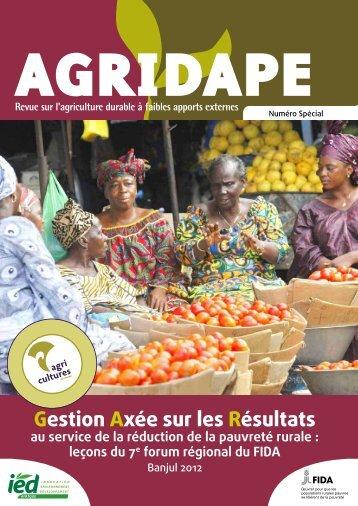 Gestion Axée sur les Résultats - AgriCultures Network