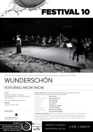 Download Wunderschön Program - Festival 10 - Perth International ...