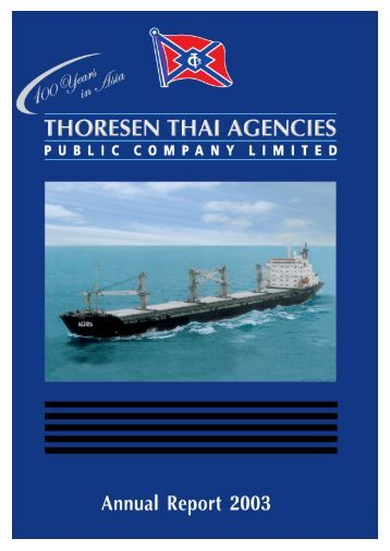 management & shareholders - Thoresen Thai Agencies PCL