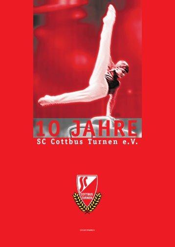 10 Jahren - SC Cottbus Turnen e.V.