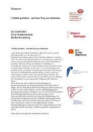 Gesamtplanung - Bund der Freien Waldorfschulen