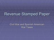 Revenue Stamped Paper
