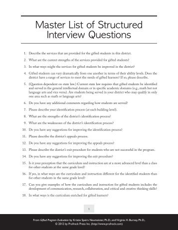 behavior question list View information about and examples of behavioral interview questions from luther college's department of human resources.