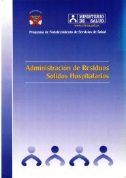 Administración. - Bvs.minsa.gob.pe - Ministerio de Salud