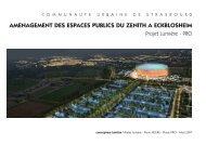 amenagement des espaces publics du zenith a eckblosheim - Philips