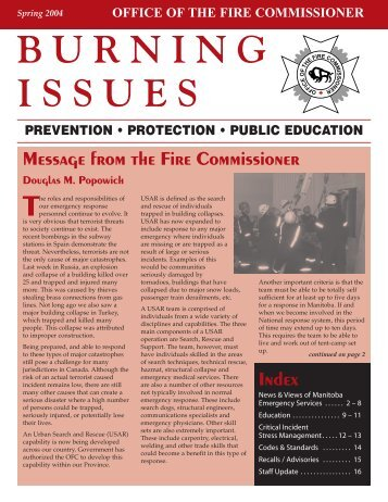Spring 2004 Issue Pages - Office of the Fire Commissioner ...