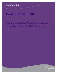 Building a Model of Sustainable Access to Community Health Care ...