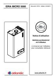 IDRA MICRO 5000 - Sun Chauffage