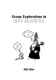 Group Explorations in Ego Magick - Phil Hine