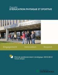 Plan de positionnement stratégique de la FEPS (2010-2012)