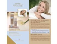 LOGONA Age Protection – Because Beautiful Skin Is Not