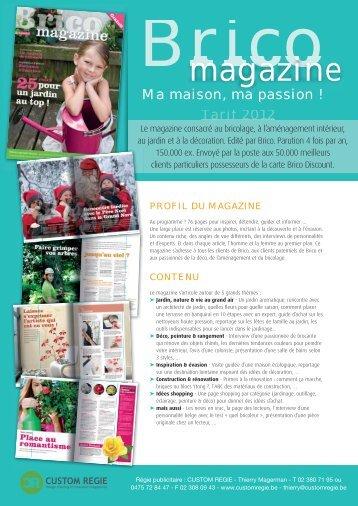 magazine - Custom Regie
