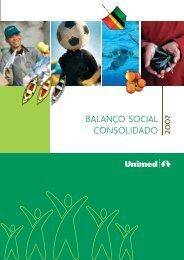 BALANÇO SOCIAL CONSOLIDADO 200 - Unimed do Brasil