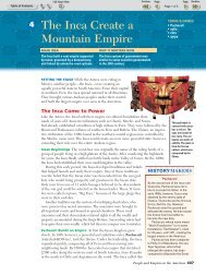 The Inca Create a Mountain Empire - Chavez Social Studies