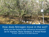 How does Nitrogen move in the soil? - Citrus Research Board