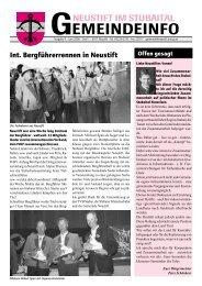 Juni 2006 - Neustift im Stubaital - Land Tirol