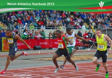 Welsh Athletics Yearbook 2013
