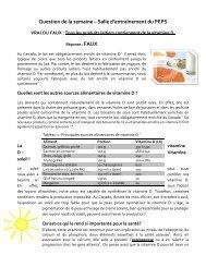 les produits laitiers contiennent de la vitamine D - Peps - Université ...