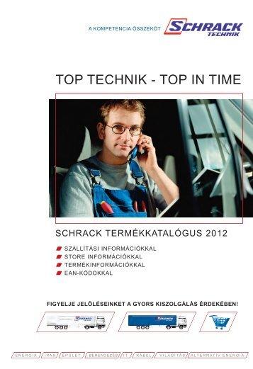 TOP TECHNIK - TOP IN TIME - Schrack Technik