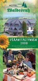 VERANSTALTUNGEN - Hotel Waldesruh