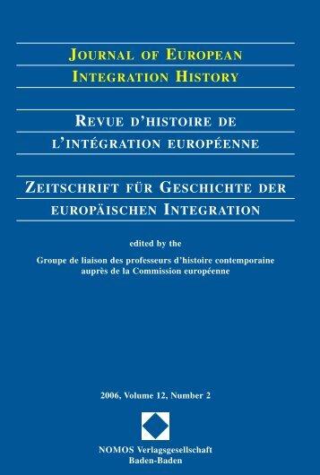 2006, Volume 12, N°2 - Centre d'études et de recherches ...