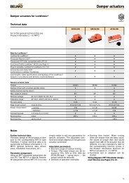 Damper actuators - Belimo
