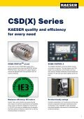 CSD/CSDX 45–90 kW - Kaeser Compressors - Page 7