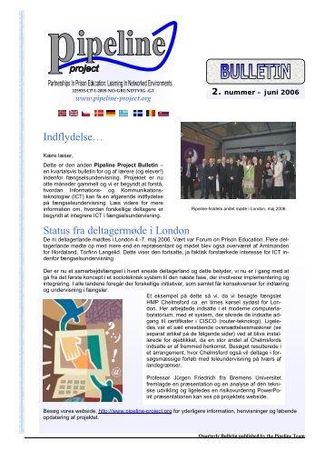 Status fra deltagermøde i London Indflydelse… - EPEA